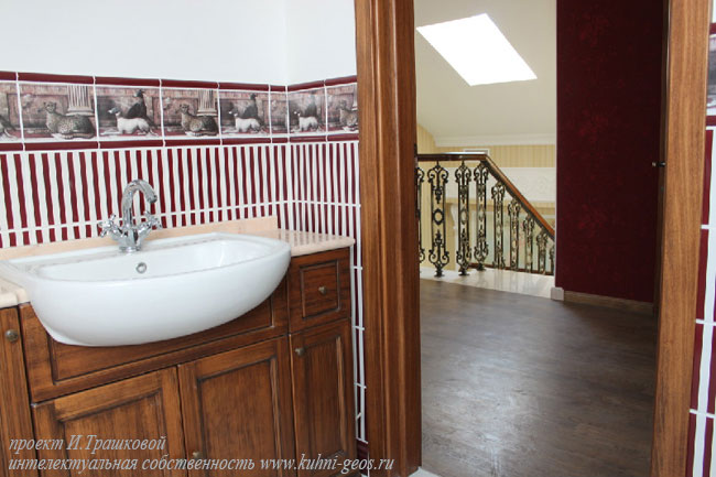 ванная комната - дизайн интерьера