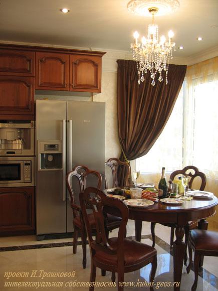 дизайн интерьера - столовая зона-СПб.